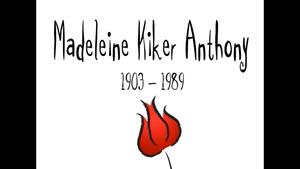 Madeleine Kiker Anthony