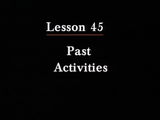 Irasshai | Past Activities