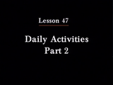 Irasshai | Daily Activities Part 2
