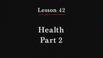 Health Part 2