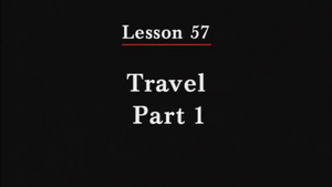 257: Travel Part 1