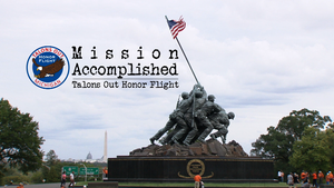 Mission Accomplished: Talons Out Honor Flight