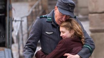 "Geoffrey Rush and Sophie Nelisse for ""The Book Thief"""