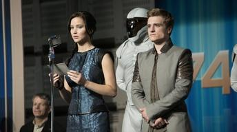 "The stars of ""Hunger Games: Catching Fire"""