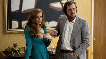 "The stars of ""American Hustle"""