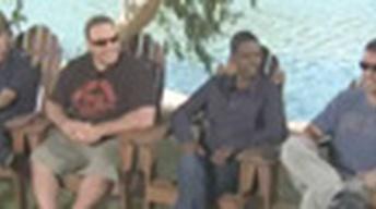 Adam Sandler, Chris Rock, Kevin James, and David Spade -...