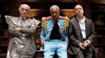 Helen Mirren, Bruce Willis and Morgan Freeman for RED