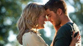 "Zac Efron and Taylor Schilling for ""The Lucky One"""