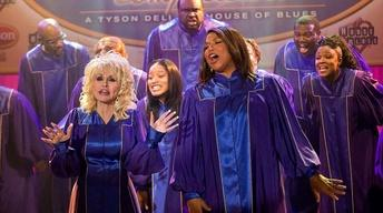 "Dolly Parton and Queen Latifah for ""Joyful Noise"""