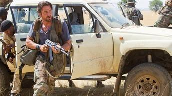 "Gerard Butler and Michelle Monaghan for ""Machine Gun..."