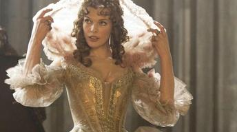 "Milla Jovovich and Orlando Bloom: ""Three Musketeers"""