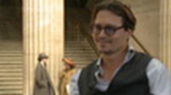 "Johnny Depp - ""Public Enemies"""