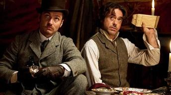 "The cast of ""Sherlock Holmes 2"""