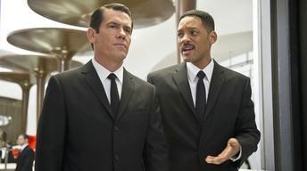 "Will Smith and Josh Brolin for ""Men in Black 3"""