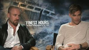 "Chris Pine & Ben Foster for ""The Finest Hours"""