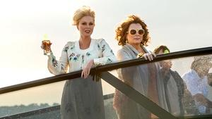 "Jennifer Saunders & Joanna Lumley for ""Absolutely Fabulous"""