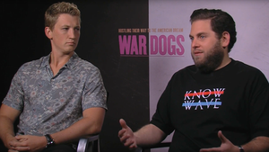 "Jonah Hill and Miles Teller for ""War Dogs"""