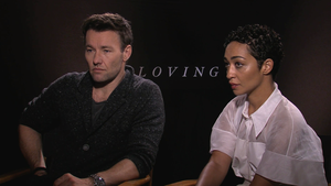 "Joel Edgerton and Ruth Negga for ""Loving"""