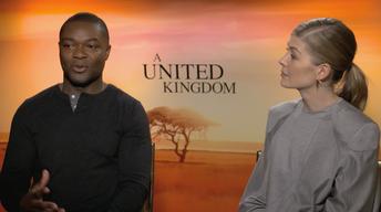 "David Oyelowo & Rosamund Pike for ""A United Kingdom"""
