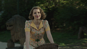 """Jessica Chastain for """"The Zookeeper's Wife"""""""