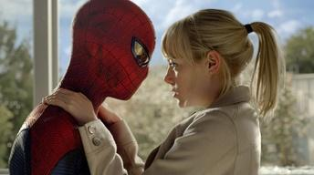 "Andrew Garfield and Emma Stone for ""The Amazing Spiderman"""