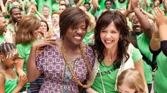 "Viola Davis and Maggie Gyllenhaal for ""Won't Back Down"""