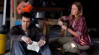 "Joseph Gordon-Levitt and Emily Blunt for ""Looper"""