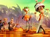 "Flicks | The stars of ""Cloudy with a Chance of Meatballs 2"""