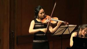 Student Recital: Schubert, Bland, Reich