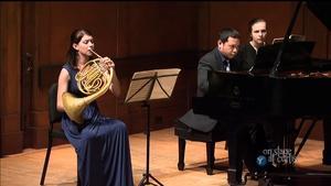 Hornist Dana Cullen's Graduation Recital