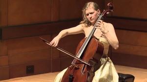 Cellist Arlen Hlusko Graduation Recital