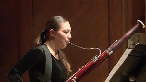Bassoonist Emeline Chon Graduation Recital