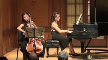 Student Recital: Godefroid, Bach, Marescotti, Fauré,