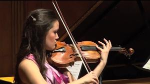 Violinist Marie Rossano Graduation Recital