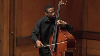 Double Bassist and Composer Xavier Foley Graduation Recital