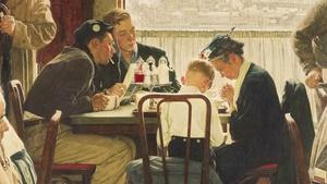 ArtWorks: Norman Rockwell, Charles James and Jon Hill