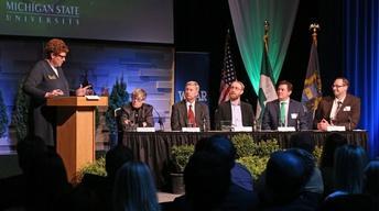 A Conversation with Pres. Simon: MSU's Energy Future 2016
