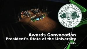 2013 All-University Awards & State of the University Address