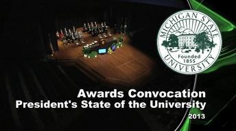 2013 All-University Awards & State of the University Address