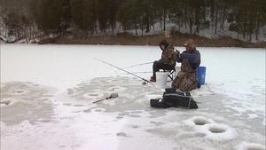 Ice Fishing in Grant County