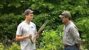 Ohio River Fishing, Rattlesnakes, Bow Making