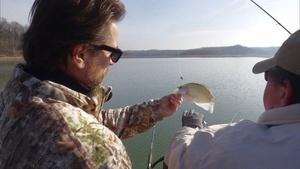 Fishing on Green River Lake