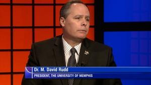University of Memphis President Dr. M. David Rudd