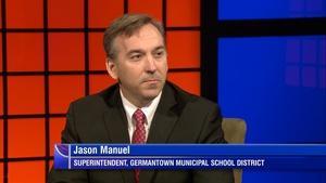 Germantown Superintendent Jason Manuel