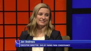 Shelby Farms Park Conservancy Executive Director Jen Andrews