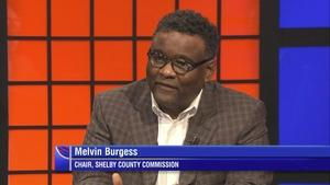 Shelby County Commission Chairman Melvin Burgess