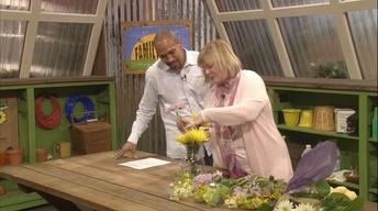 Flower Arranging and Container Planting