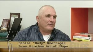 Former Notre Dame Football Player Rudy Ruettiger