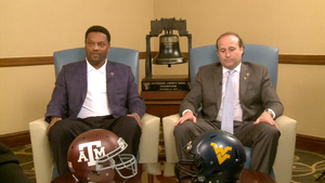 Head Coaches Kevin Sumlin and Dana Holgorsen