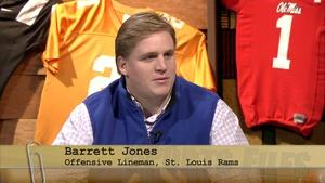St. Louis Rams offensive lineman Barrett Jones